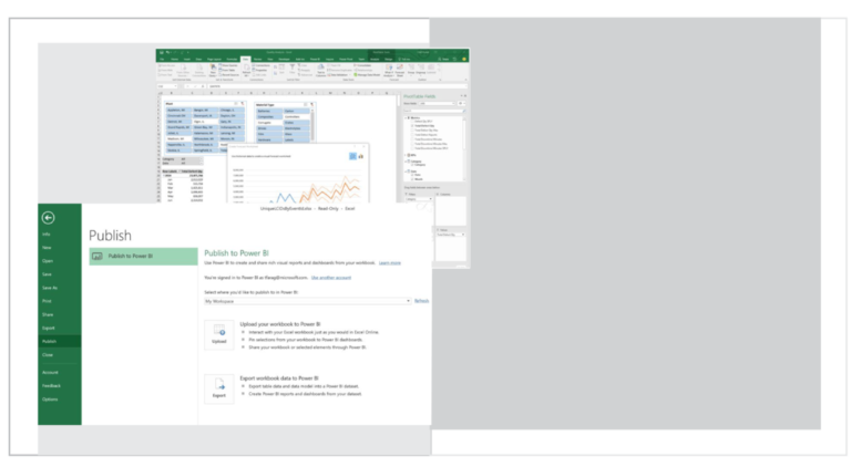 Deliver insights through deep integration with Excel